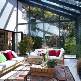 veranda vitrée maison